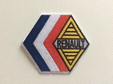 A043 // ECUSSON PATCH AUFNAHER TOPPA / NEUF / RENAULT / 7.7*6.7 CM