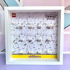 Cornice Vetrina Display Case Lego 71030 Minifigures Looney Tunes NUOVA VERSIONE!