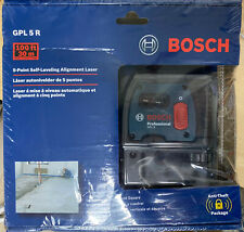 Bosch Gpl 5 R 5 Point Self Leveling Alignment Laser New