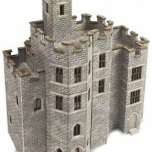 *NEW* METCALFE N Gauge ,Track, layout Card kit No: PN194 Castle Hall