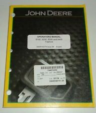 John Deere 9100 9200 9300 9400 Tractor Operators & Maintenance Manual JD OEM