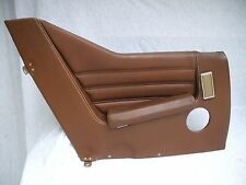 1971-1975 CITROEN SM BROWN LEATHER INTERIOR TRIM PANEL LEFT  QUARTER