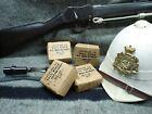 ZULU WAR British Army Martini Henry 450-577 Cartridge Display Blocks