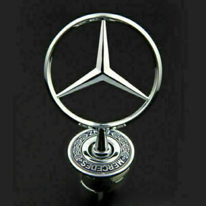 DE Emblem Stern Motorhaube Logo für Mercedes-Benz W163 C200 W204 W210 W220 W211