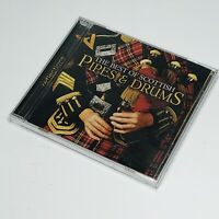The Best of Scottish Pipes & Drums by Various Artists (CD, 2008) - SEALED