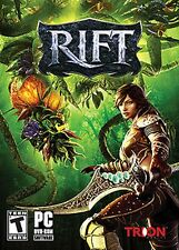 Rift  (PC, 2011) Complete DVD ROM Manual and Poster Rated T Trion Worlds