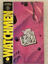 Watchmen #4 Signed by Dave Gibbons 1986 DC Comics HBO AUTOGRAPHED Rorschach