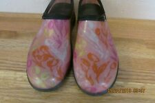 Ladies Sloggers  Brand Shoes - Pink Print - Size 7