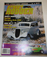 Street Rodder Magazine Fuel Cell & Emergency Brake Cable January 1988 080814R