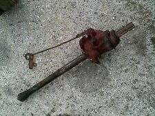 Farmall H Early SH Tractor IH Power Take Off assembly & engagement linkage rod