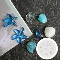 DIY 3D Cookies Chocolate Baking Mould Silicone Seashell Conch Mold T1Y5 H2O2
