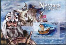[32641] SUP||**/Mnh || <b>Cote</b> : 17.00eur || - BURUNDI 2012 - Navires médiév