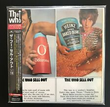 """THE WHO Sell out JAPAN MINI LP CD - RARE """"TARGET"""" EDITION 1999 - Complete/Mint-!"""