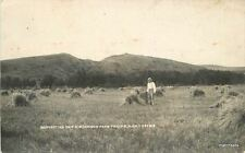 1912 PHILIP Haakon SD Farming Agriculture Morrison Farm RPPC real photo 8324