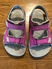 Girls Columbia Sport Sandals Shoes Beach Water Pink Toddler Size 10