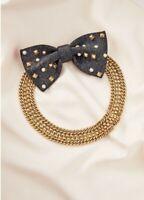 Stella&dot Crush It Bow Necklace and Cuffs