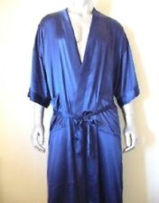 Blue Silk Robe (100% Genuine Silk) RRP$139 SALE 40% OFF