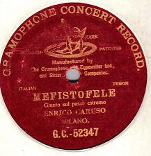 Enrico CARUSO - Mefistofele: Giunto sul passo estremo