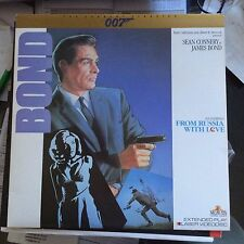 FROM RUSSIA WITH LOVE James Bond Connery Classics USED LASER DISC