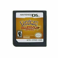 Pokemon HeartGold Heart Gold Version Game Card For Nintendo 3DS NDSI NDS