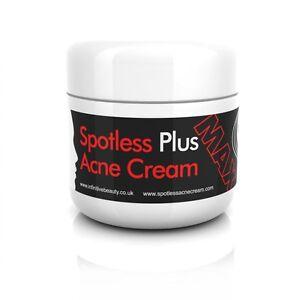 Spotless Plus Acne Cream Acne Treatment Spot Blemish Blackhead Remover Vitamin A