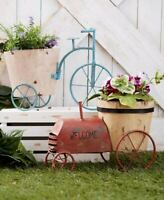 Tricycle Bike or Tractor Rustic Planter Vintage Farmhouse Country Home Decor