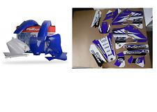 New YZ 125 250 00 01 FLU PTS3 Graphics Sticker & Plastic Kit Plastics