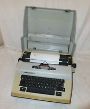 ERIKA Electric 52020 RETRO Typewriter PORTABLE Cased VINTAGE Prop DISPLAY