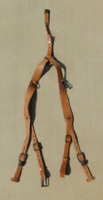 Czech Army Y-Strap leather suspenders in very good used condition, free shipping