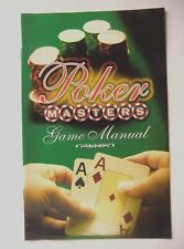 49390 Instruction Booklet - Poker Masters - Sony PS2 Playstation 2 (2005) SLES 5