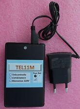 TEL11M_RETE  Avviso mancanza ritorno rete 220 Vca - dispositivo GSM Allarme 220V