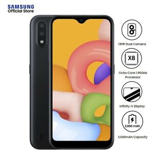 Samsung Galaxy A01 - 2GB RAM - 16GB ROM - 5.7 inches - Android Phone with...