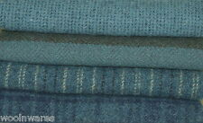 "HAND DYED RUG HOOKING WOOL Mill-Dyed ~ ""ALL AMERICAN BLUE JEANS"""