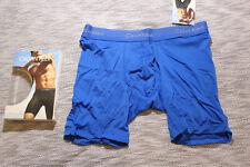 Calvin Klein CK men blue light microfiber boxer brief underwear size S or M
