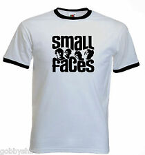 Mod Mens Ringer Tees, Slim Fit, Small faces, Mods, T-shirt, Small to 3XL