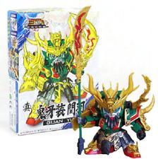 "3"" Guan Yu SD BB Gundam DIY Build Yourself Model Kit A006 Robot Space Mech ROTK"