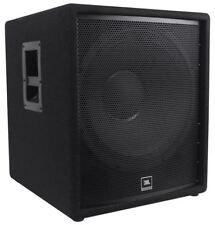 """JBL Pro JRX218S 1,400 Watt 18"""" Inch Compact Passive Subwoofer DJ Sub"""