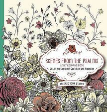 Scenes from the Psalms - Adult Coloring Book : Color the Comfort of God's Care a