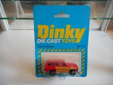 Dinky Toys Chevy Blazer in Red on Blister (Made in Hong Kong)