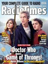RADIO TIMES Magazine Doctor Who Peter Capaldi Game of Thrones Maisie Williams