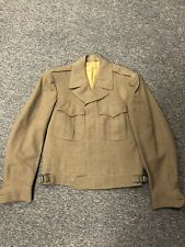1945 Army Officer Jacket, Field, Wool, O.D. Officer. Size 36R