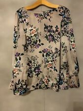 Be Beau Lovely Print Top - Size 18