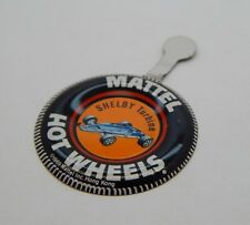 Redline Hotwheels Button Badge Metal Hong Kong Lotus Turbine R17133
