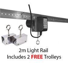 Hydroponics Grow Light Mover rail 2 m pour 600 W HPS Lights/DEL Growing Room