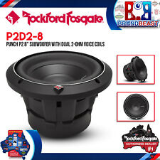 """Rockford Fosgate P2D2-8 Punch Series 8"""" P2 2-Ohm 500 Watts Max DVC Subwoofer"""