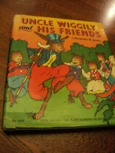 UNCLE WIGGILY AND HIS FRIENDS BY HOWARD R. GARIS 1955 DUST JACKET
