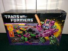Scorponok G1 Transformers Hasbro 1987 USED Box Instructions Unused Decal Catalog