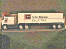 1991 NYLINT SOUND MACHINE SEMI # 9126 CUTLER-HAMMER/LINCOLN PLANT TOY COLLECTOR