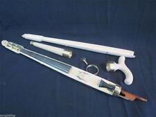 Hand made Unfinished Walking Stick Cane Violin Pochette Canne -Violon