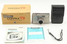 [Unused in Box] Contax T3 D Data Back 35mm Point & Shoot Film Camera Japan #354